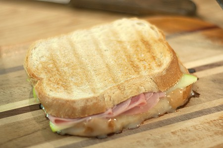 Ham, Apple and Brie Panini