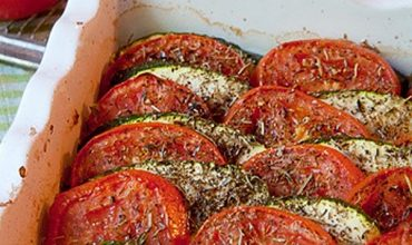 Tomato-Zucchini Tian