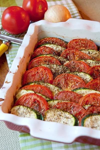 Tomato Zucchini Tian