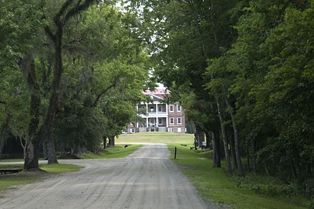 Approach to Drayton Hall