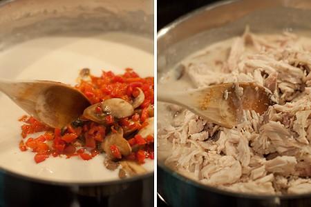 Making Chicken a la King