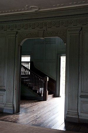 Staircase in Drayton Hall