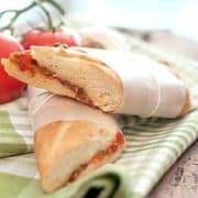 This Mediterranean Pressed Sandwich with its lovely bright flavors is just perfect for a late summer picnic. https://www.lanascooking.com/mediterranean-pressed-sandwich/