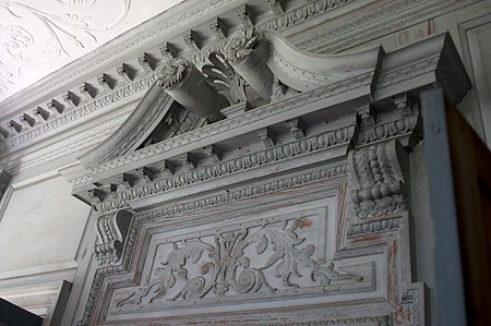 Drayton Hall Mantel