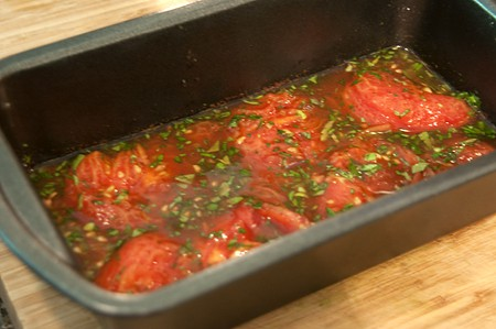 Old Fashioned Tomato Aspic from Never Enough Thyme