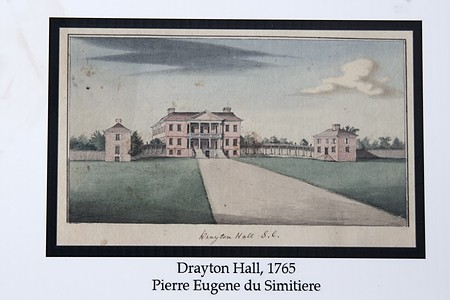 Watercolor of Drayton Hall