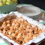 Apple Patchwork Cobbler