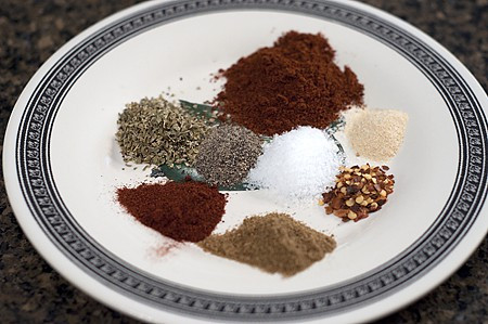 Spices for Black Bean Chili