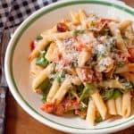 Bacon, Lettuce and Tomato (BLT) Pasta