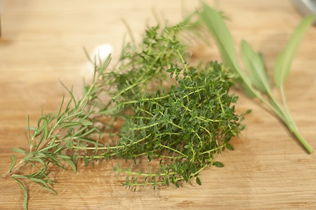 Herbes for Herbed Roasted Potatoes