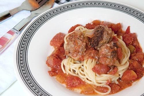 Meatballs in Creamy Tomato-Dill Sauce