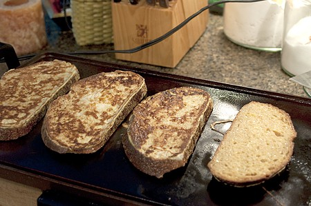 Cooking Banana-Maple French toast