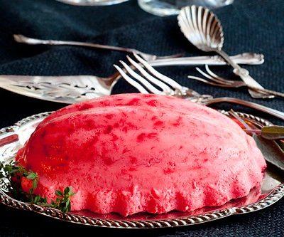 Polly's Pink Stuff (Raspberry Jello Mold)