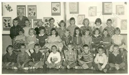 Colquitt Elementary 2nd Grade Class - 1961