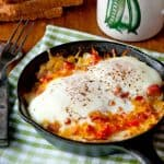 Hash Brown-Omelet Skillets