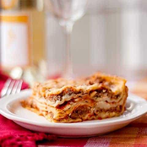 Best Ever Lasagna