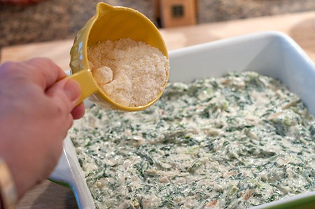 Turnip Green Dip - add Parm