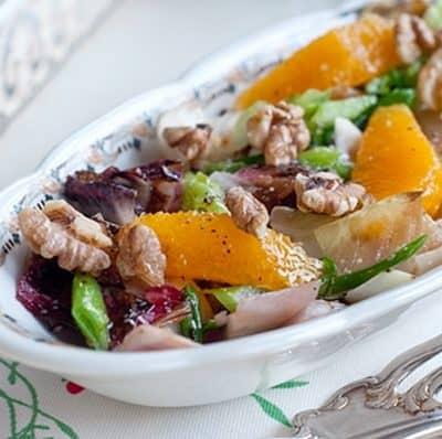 Grilled Endive Salad