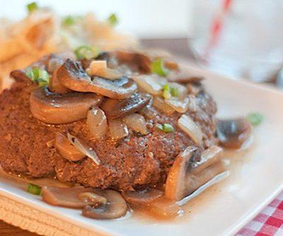 Salisbury Steaks and Mashed Potatoes
