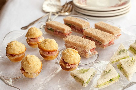 Tea Sandwiches - Three Ways