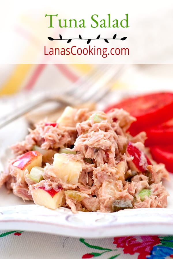 Sweet Savory Tuna Salad Never Enough Thyme