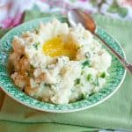 Traditional Irish Champ - creamy mashed potatoes with scallions and loads of butter. From @NevrEnoughThyme http://www.lanascooking.com/champ-a-st-patricks-day-tribute-to-my-irish-ancestors