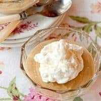 Rich, dreamy old-fashioned butterscotch pudding with a rich milk base, luscious brown sugar and yummy whipped cream topping. From @NevrEnoughThyme https://www.lanascooking.com/old-fashioned-butterscotch-pudding/
