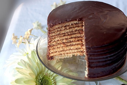 Old Fashioned Chocolate Stack Cake