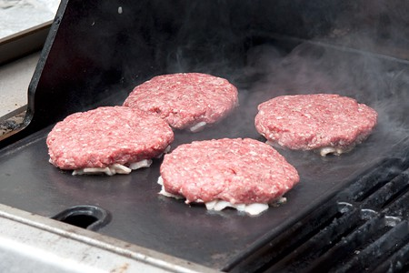 BeeBop's Bacon Cheeseburgers on the Grill