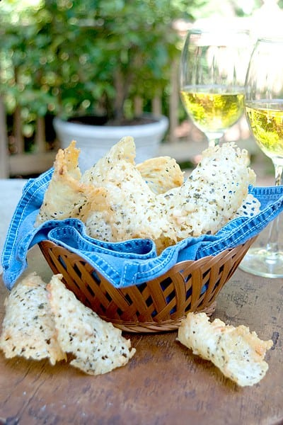 Asiago Cheese Crisps