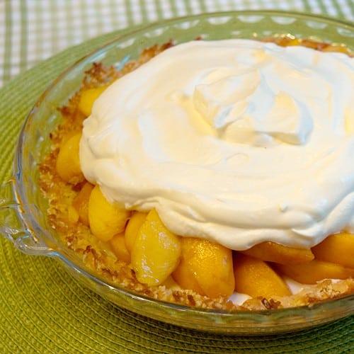 Heavenly Peach Pie