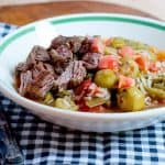 Creole Beef and Okra Soup
