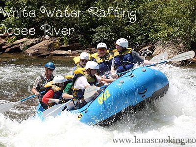 White Water Rafting on the Ocoee River!
