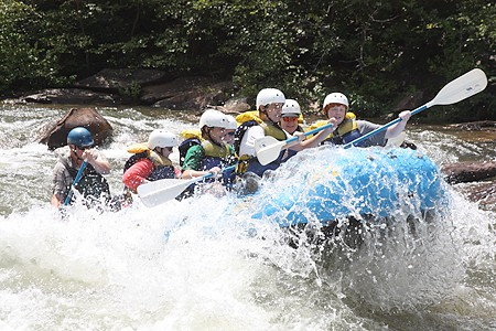 White Water Rafting - Ocoee River
