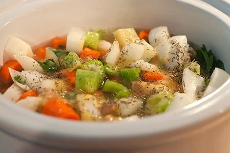 Chicken Stew ready to cook