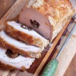 Pork Loin Stuffed with Prunes and Apricots