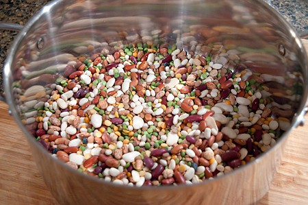 Dry bean mix for 15 Bean Soup