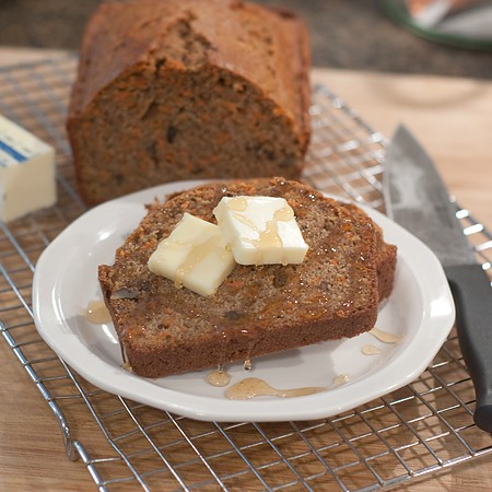 Carrot-Pecan Quick Bread