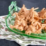 Haystacks are a vintage Christmas candy so easy to make! From @NevrEnoughThyme http://www.lanascooking.com/haystacks