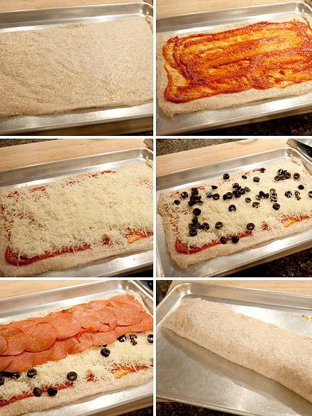 Step-by-step photo for Pepperoni Calzone