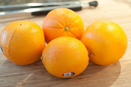 Navel orange for Ambrosia