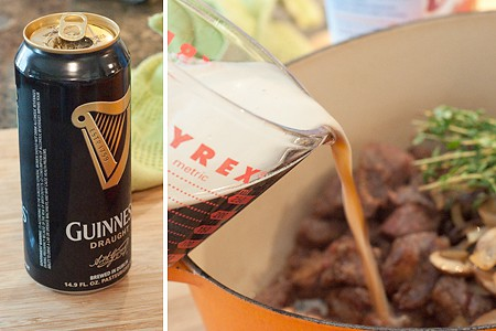 Add Guinness to Beef and Stout Pie