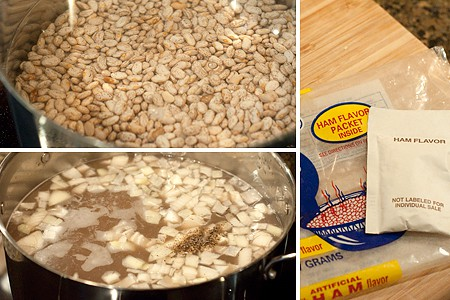 Cooking dry beans for Pint Bean Cakes