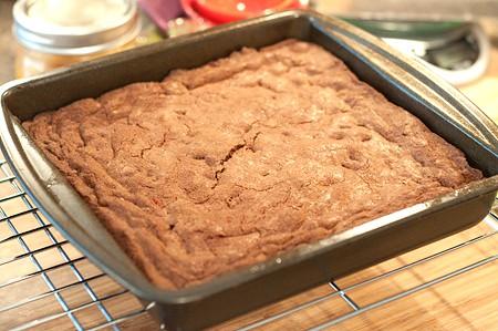 Baked Betty Crocker 1957 Brownies
