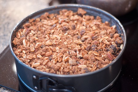 Crumble topping for Apple Pecan Coffee Cake
