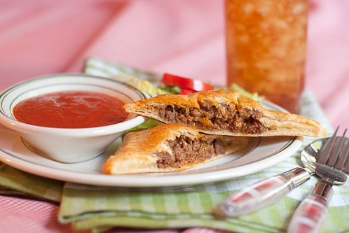 Italian Style Hand Pies with Marinara Dipping Sauce