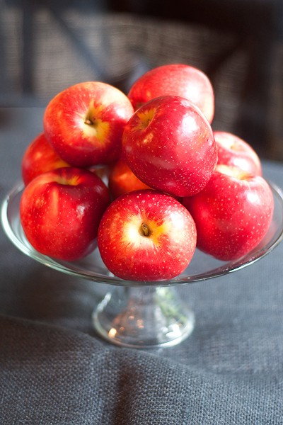 SweeTango apples - a cross between Honeycrisp and Zestar!