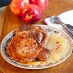 Pork Chops with Apple Puree
