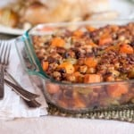 Sweet Potato and Pecan Stuffing