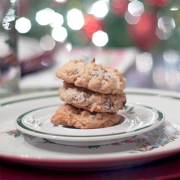 Almond Joy Cookies from @NevrEnoughThyme https://www.lanascooking.com/almond-joy-cookies